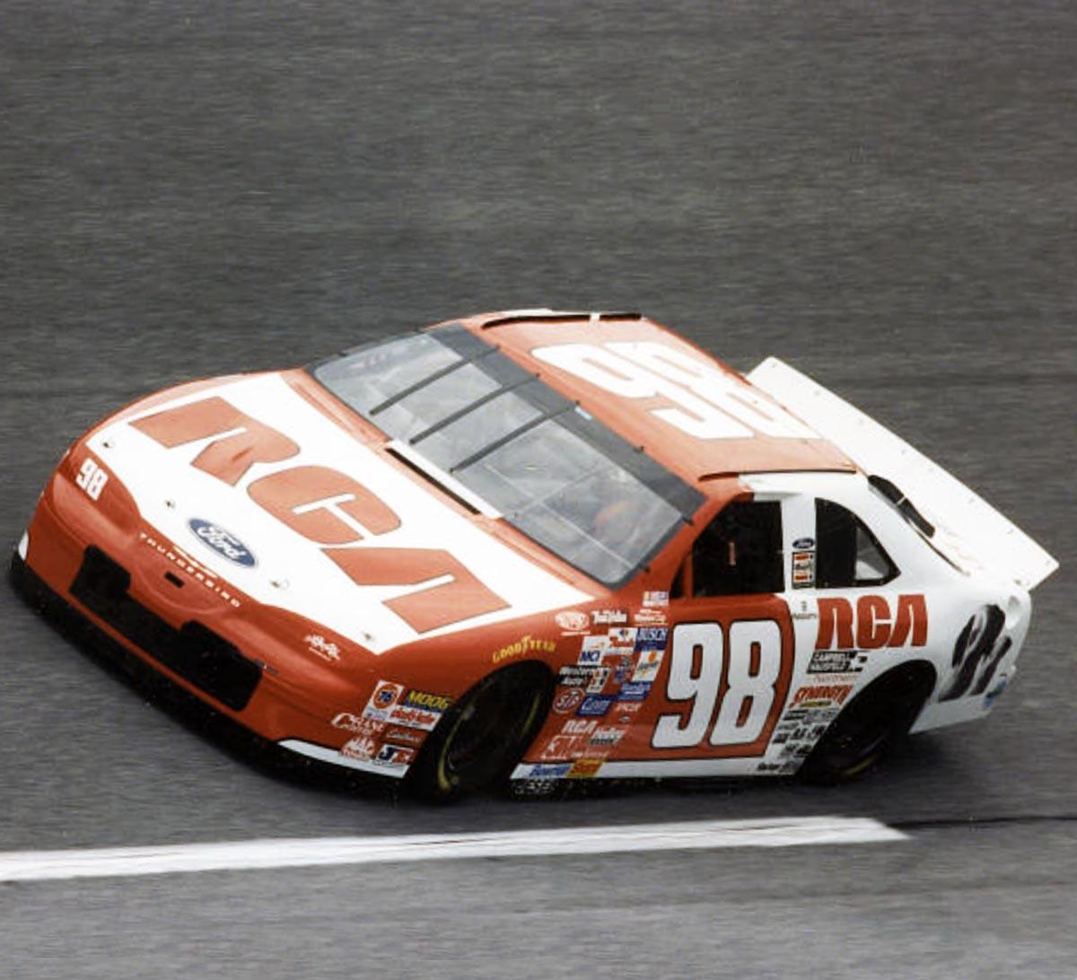 1996-7-John-Andretti-Race-Used-Haas-Yarb