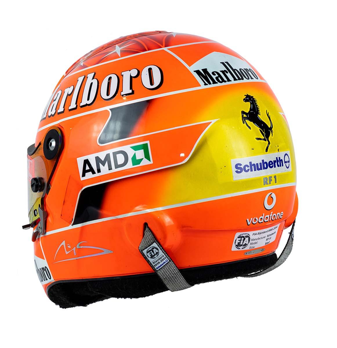 Schumacher Ferrari Helmet Visor Strip Visor Sticker Car Helmet