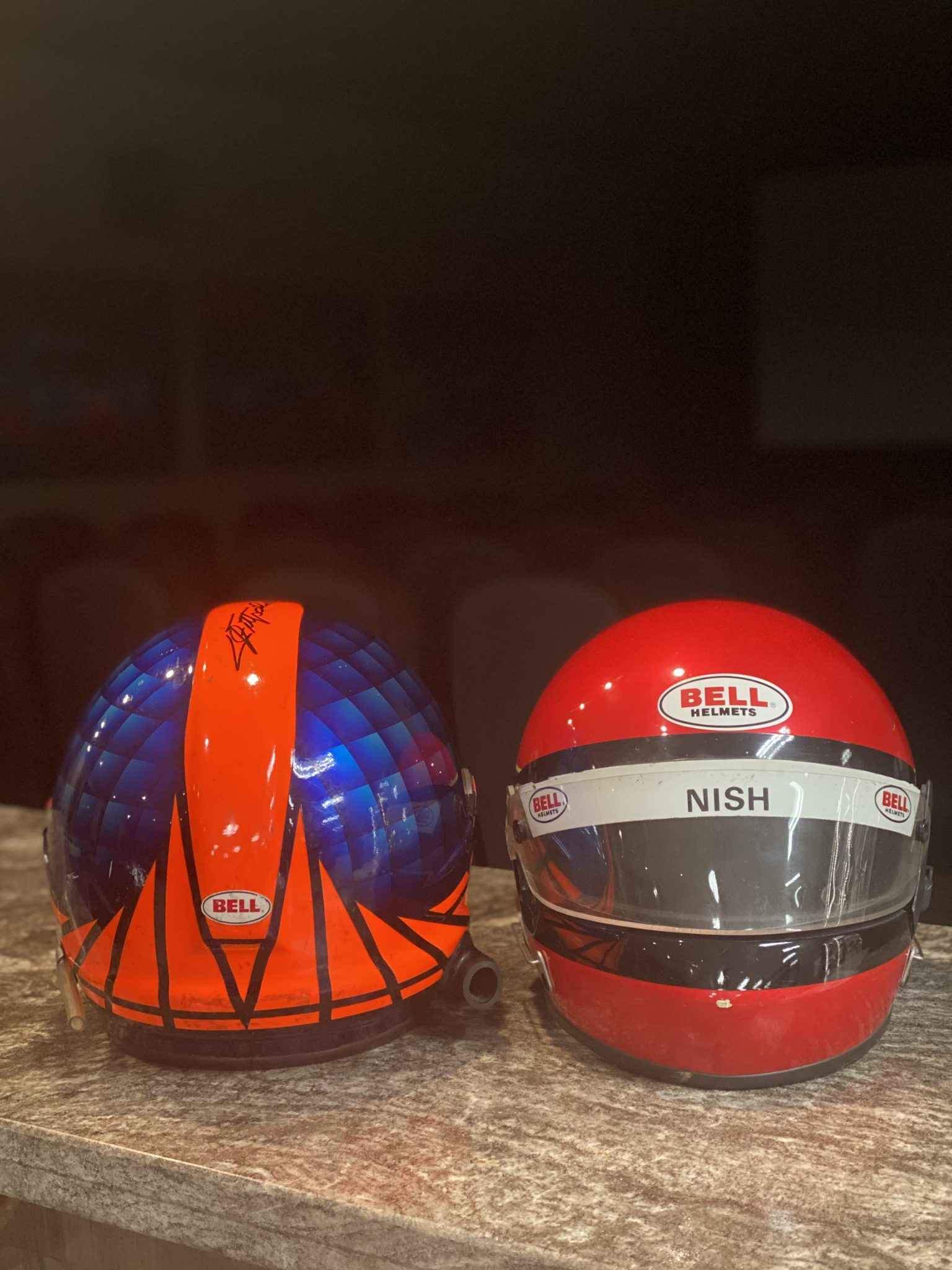1985 Mike Nish Race Worn Very Rare Bell Indy 500 / IndyCar ...