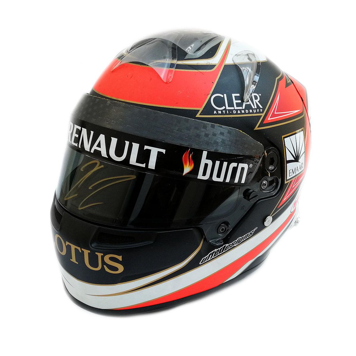 Raikkonen Helmet