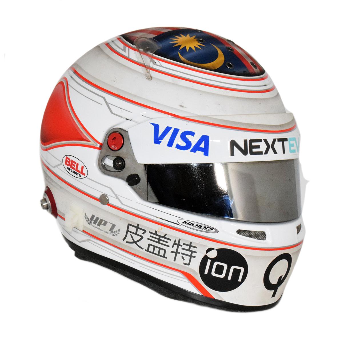 F1 Helmet Visor Sticker Honda F1 Jenson Button Honda Bell Helmet