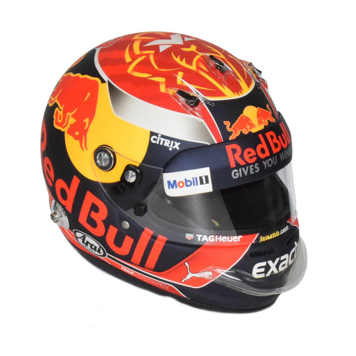 Spiksplinternieuw 2017 Max Verstappen Arai Red Bull Media Helmet – Racing Hall of BJ-33