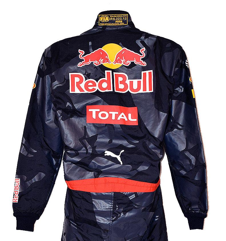 2016 Daniel Ricciardo Red Bull Racing Race Worn Formula ...